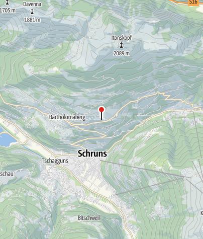 Karte / Panorama Chalet Montafon