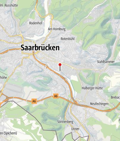 Kaart / Undine Saarbrücken