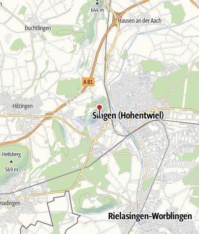 Karte / Staatsweingut Meersburg