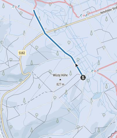 Karte / V2 - Loipenverbinder 2 - Gabelweg/Pöbelbachweg