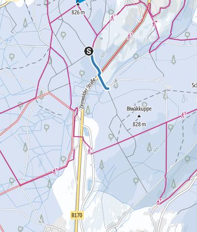 Karte / V3 - Loipenverbinder 3 - Sonnenhof