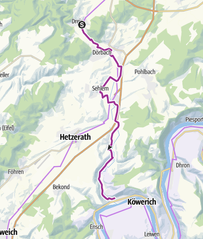 Map / Salm Cycle Trail