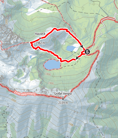 Karte / Hauseck-Runde