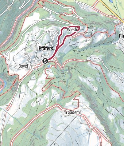 Karte / Aussichtspunkt Tabor