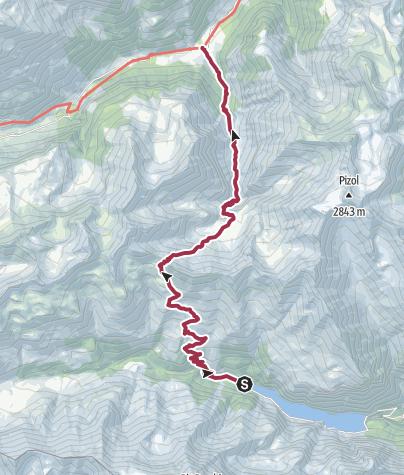Karte / St.Martin - Weisstannen