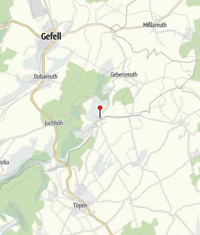 """Karte / Gasthaus """"Zum Grenzgänger"""""""
