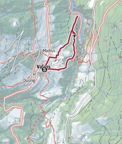 Karte / Calandaschau