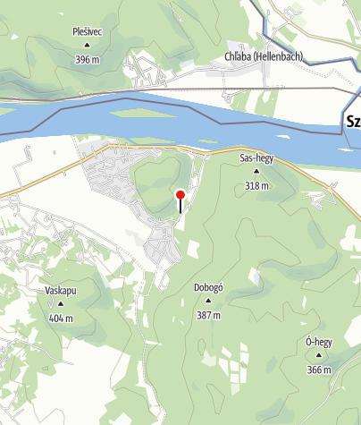 Map / Kerektó Vadászház