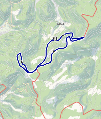 Karte / AugenBlick-Runde Bad Herrenalb Schweizerkopf