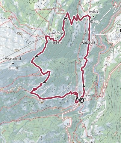 Karte / Bettlerweg