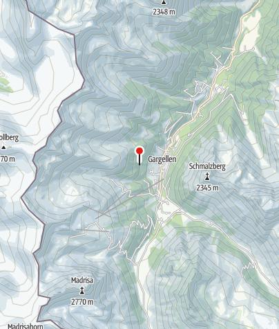 Karte / Geologisches Fenster Gargellen