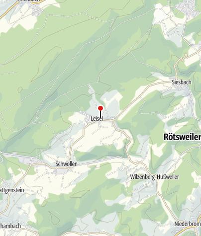 Karte / Hasenberghof, 55767 Leisel