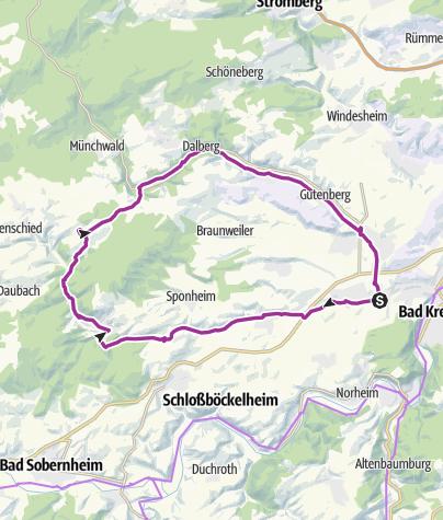 Map / Kleinbahn-Radrundweg