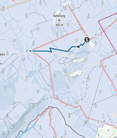 Karte / V5 - Loipenverbinder 5 - Georgenfelder Weg