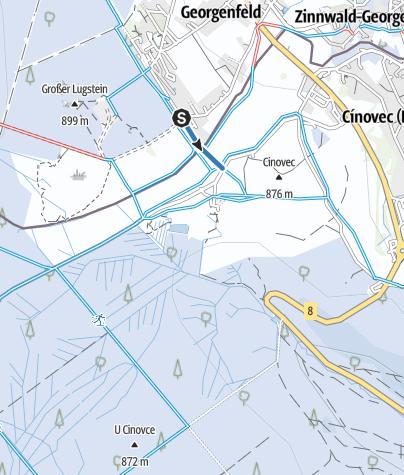 Map / V6 - Loipenverbinder 6 - Grenzüberschreitend D/CZ