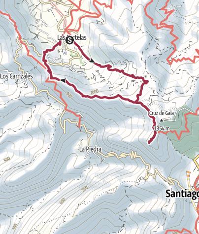 Map / Der Wilde Westen von Teneriffa: Teno Nationalpark