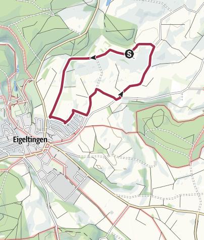 Karte / Auf den Spuren der Römer