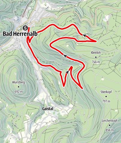 Karte / Mayenberg-Trail