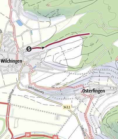 Karte / Waldlehrpfad Wilchingen