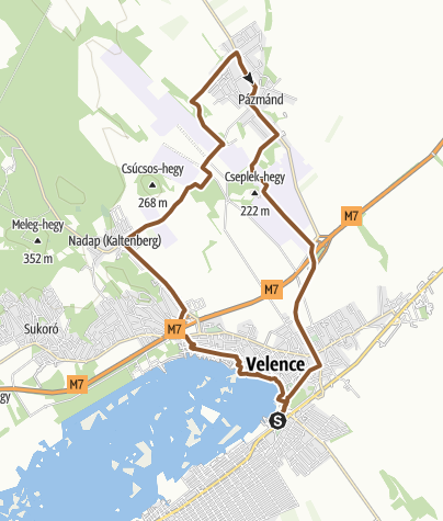 Mapa / Könnyed kör Velencéről egy csipetnyi tereppel