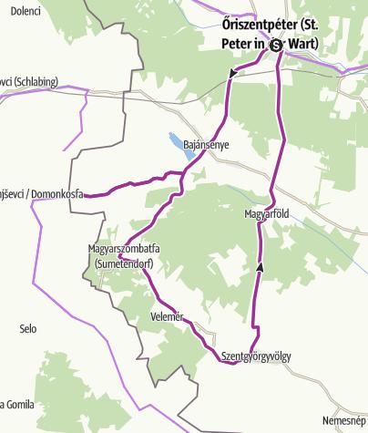 Map / Élő hagyományok és szakrális helyek az Őrség déli részén