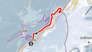 Karte / Strada - Chaflur - Martina