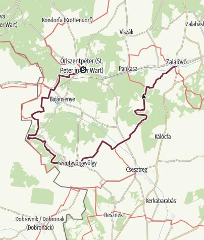 Térkép / Őriszentpéter – Zalalövő (DDK-03.)