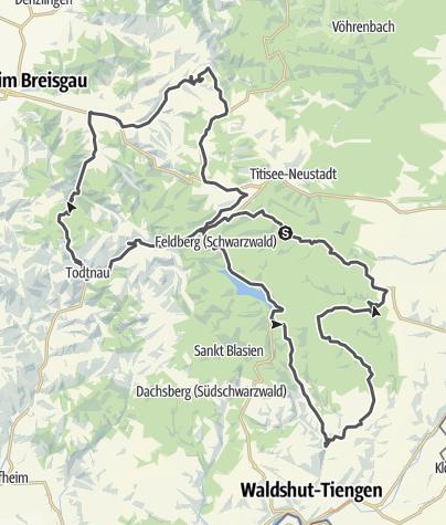 Karte / Pässe und Täler