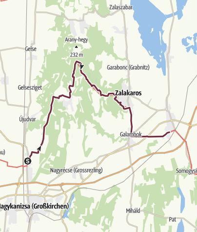 Térkép / Palin – Zalakomár (DDK-06.)
