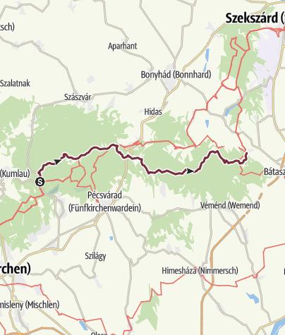 Térkép / Zobákpuszta – Mórágy (DDK-10.)