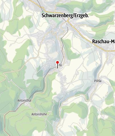 """Karte / """"Zur Eisenhütte"""""""