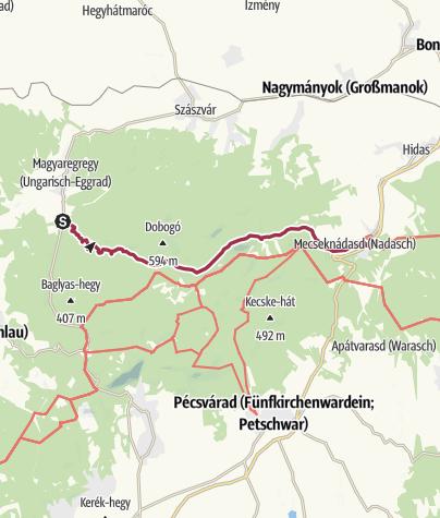 Map / A Vár-völgytől Mecseknádasdig