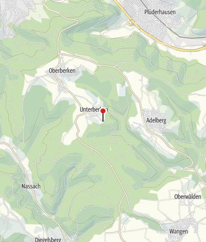Karte / Wanderparkplatz mit Wandertafel