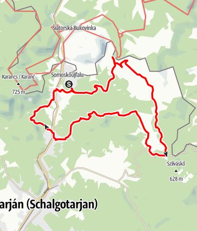 Karte / MackóKör - Bakancsban a Medves hátán