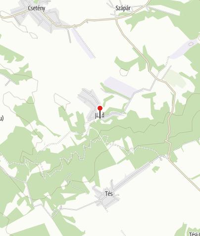 Térkép / Erdőalja Vendégház