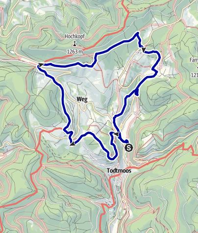 Karte / Genießerpfad - Lebküchlerweg