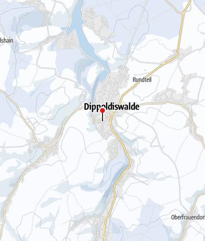 Karte / Erster befahrbarer Weihnachtsmarkt Deutschlands