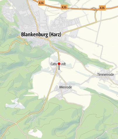 Map / Ferienhaus Hexenhäuschen Cattenstedt