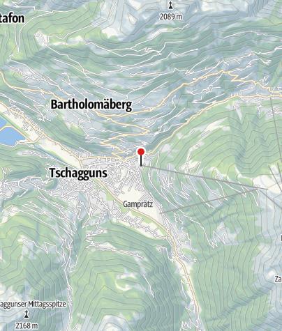 Karte / Hochjoch Bahn