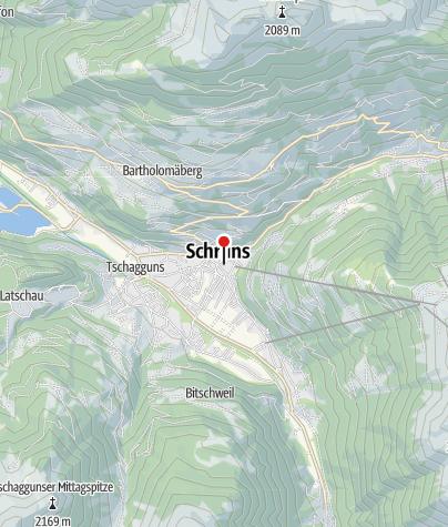 Karte / Bezirksgericht Montafon