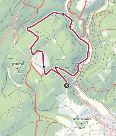 Karte / Traumschleife Almglück