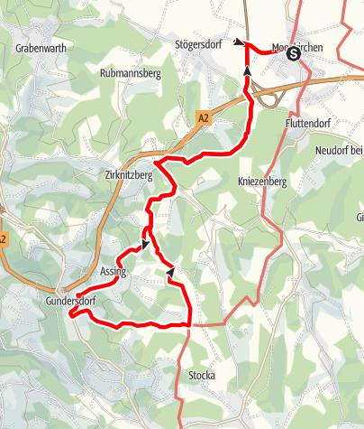 Karte / Mooskirchner Schilcherwanderweg