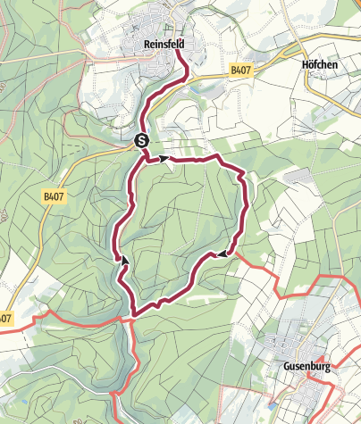 Karte / Traumschleife Frau Holle