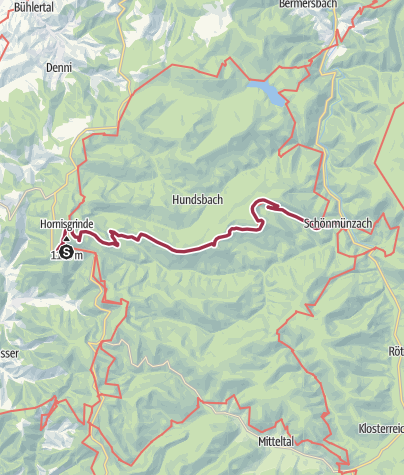 Karte / Seensteig - Etappe 4: Luft holen vor dem Finale