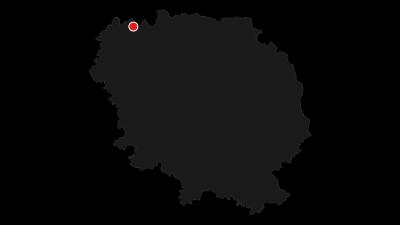 Carte / Tour de Creuse / Etape 1 : Crozant > Bénévent l'Abbaye