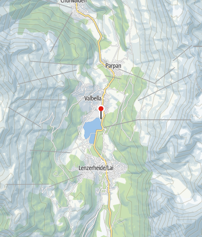 Map / Cross-Country Skiing Center Valbella