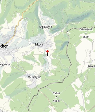 "Map / Gasthaus ""Grünes Tal"" Eubabrunn"