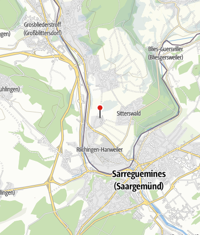 Karte / Bliesgauscheune im Erlebnispark Bliesgau