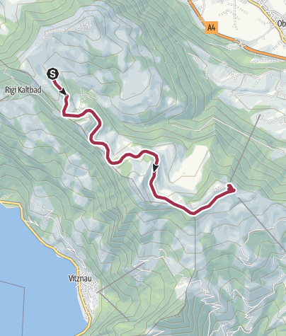 Map / Rigi-Panoramaweg