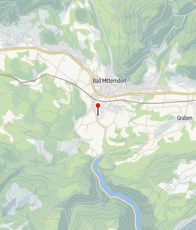 Karte / Raiffeisen Langlauf, Ski- & Thermenparadies Bad Mitterndorf - Panoramatafel Grimmingtherme